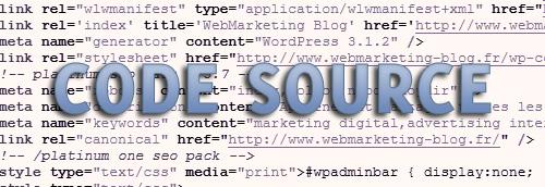 code-source HTML